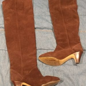 Dolce Vita Chocolate Brown Suede boots